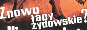 1920 Poland-Żydokomuna (Jew-Commie) poster